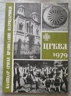 SERBIA, RELIGION, KALENDAR SRPSKE PRAVOSLAVNE PATRIJARŠIJE 1979 - Books, Magazines, Comics