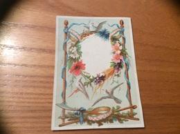 Marque-place « Oiseau, Colombe, Fleur» - Menus