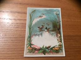 Marque-place « Canard, Fleur» - Menus