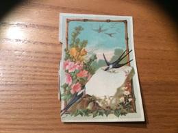 Marque-place « Hirondelle, Fleur» - Menus
