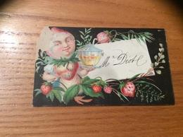 Marque-place « Mr Diot (Fraise)» - Menus
