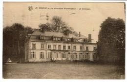 Uccle - Au Domaine Wolvendael - Le Château - Edit. F. Walschaerts N° 47 - 2 Scans - Ukkel - Uccle