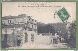 CPA Peu Courante - ALPES MARITIMES - NICE - CASERNE DE RIQUIER ET PIGEONS VOYAGEURS - édition Giletta / 92 - Bauwerke, Gebäude