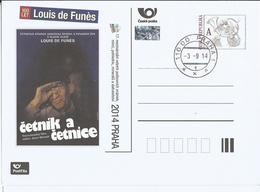 CDV A 202 Czech Republic Sberatel/Collector/Sammle R L. De Funes 2014 Police - Film