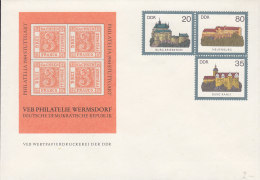 DDR U 1, Mit Privatzudruck PHILATELIA '84 Stuttgart - Private Covers - Mint