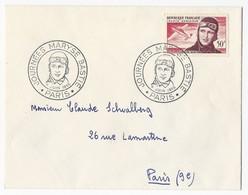 FDC Journée Maryse Bastié Paris 4 Juin 1955 - FDC