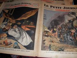 ANGLETERRE HIBOU GEANT /MEXIQUE ATTAQUE D UN TRAIN - Journaux - Quotidiens