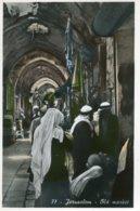 PALESTINE (Israel) RPPC Jerusalem Old Market - Palestine
