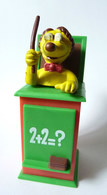 Figurine CASIMIR Publicitaire FLUNCH - 2003 - LEONARD - Figurines