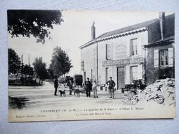 CHAMBLEY LE QUARTIER DE LA GARE L'HOTEL E.BLOUET - Chambley Bussieres