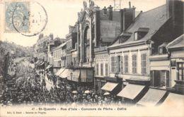 02-SAINT QUENTIN-RUE D ISLE DEFILE CONCOURS DE PECHE-N°R2040-C/0209 - Saint Quentin