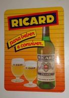 Calendrier De Poche Ricard 1986 - Petit Format : 1981-90