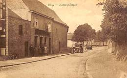 Oleye - Chemin D'Elbeck (animée, Café, Oldtimer, Edit Henri Kaquet) - Waremme