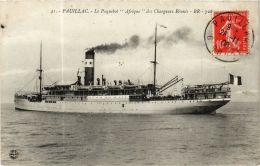 CPA Pauillac- Le Paquebot Afrique Des Cherbourgs Réunis, SHIPS (763478) - Passagiersschepen