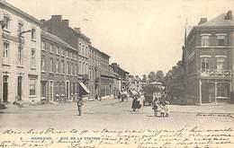 Waremme - Rue De La Sation (animée, Précurseur, Hôtel De La Station, 1905) - Borgworm