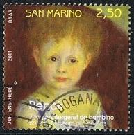 2011 - SAN MARINO - DIPINTO / PAINTING - USATO/USED - Usati
