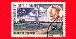 COSTA D'AVORIO - Usato - 1972 - Istituzione Louis Pasteur (1822-1895), Biologo - 35 - Costa D'Avorio (1960-...)