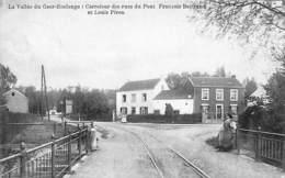 Vallée Du Geer - Roclenge - Carrefour Des Rues Du Pont Bertrand Et Louis Piron (animée, Rails, Olyff 1912) - Geer