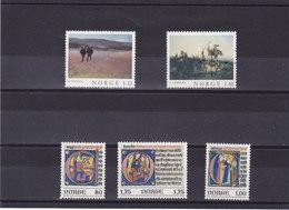 NORVEGE 1977  Yvert  709-713 NEUF** MNH - Norvège