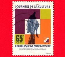 COSTA D'AVORIO - Usato - 1979 - Giornata Della Cultura - 65 - Costa D'Avorio (1960-...)