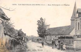 27-LA NEUVILLE DU BOSC-SCENE DE RUE-N°R2041-G/0091 - Frankrijk