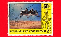 COSTA D'AVORIO - Usato - 1981 - Conquista Di Spazio - Space Shuttle Columbia - 60 - Costa D'Avorio (1960-...)