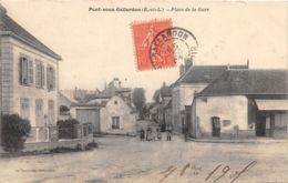28-PONT SOUS GALLARDON-PLACE DE LA GARE-N°R2042-A/0159 - Autres Communes