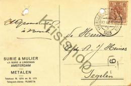 Reclame-briefkaart - Amsterdam Uit 1923  (B1293 - Postal Stationery