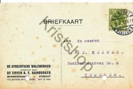 Reclame-briefkaart - Utrecht Uit 1917 (B1294 - Postal Stationery