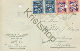 Reclame-briefkaart  - Amsterdam Uit 1923 (B1298 - Postal Stationery