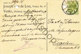 Reclame-briefkaart - Venlo Uit 1919  (B1299 - Postal Stationery