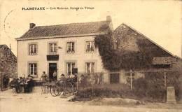 Plainevaux - Café Materne - Entrée Du Village (top Animation, Borne, Desaix 1934) - Neupre