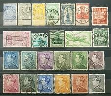 Belgique, Lot 33 Of 70+ Used Stamps, Start 1e - Sammlungen (ohne Album)