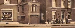 Ombret - Centre (animée, Commer, Café, Préaux 1937) - Amay