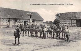 41-SOUESMES-CHEVAUX DE LA FERME DE BOIS ROSE-N°R2043-A/0097 - Frankrijk