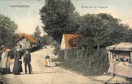 Tancrémont - Route De La Chapelle (animée, Colorisée Peu Vue, Boutique Objets Religieux 1913) - Pepinster