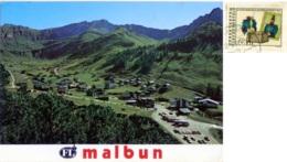 LIECHTENSTEIN  Malbun  Nice Stamp - Liechtenstein