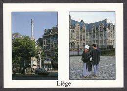 74917/ LIEGE, Le Perron / Tchantchès Et Nanesse Devant Le Palais Des Princes-Evêques - Liege