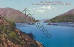 Otoci Perasta Sa Verigama - Die Beiden Inseln Bei Perasto  [B743 - Postcards