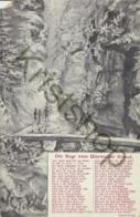 Der Sage Vom Uttewalder Grund  [B818 - Postcards