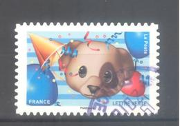 France Autoadhésif Oblitéré N°1566 (EMOJI) (Cachet Rond) - France