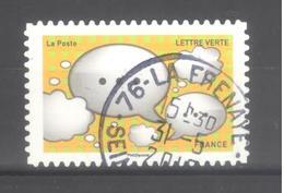 France Autoadhésif Oblitéré N°1568 (EMOJI) (Cachet Rond) - France