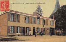 52-LONGEVILLE SUR AINE-CAFE RESTAURANT DU SOLEIL D OR-N°R2044-E/0147 - Autres Communes