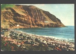Lima - Playa La Herradura En Temporada De Verano - Publicity Faucett Airlines - Vintage Car - Peru