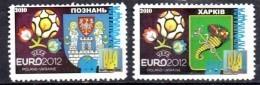 UKRAINE  N°   * *  Euro 2012 Football Soccer Fussball - Europei Di Calcio (UEFA)