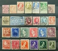Belgique, Lot 34 Of 80+ Used Stamps, Start 1e - Sammlungen (ohne Album)
