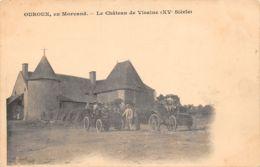 58-OUROUX-LE CHÂTEAU DE VISAINE-N°R2045-H/0177 - France