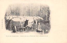 60-ERMENONVILLE-LA FORET HUTTE DE CHARBONNIER-N°R2046-A/0355 - Frankreich