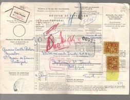 Parcel Card 1969 Endomendas > St. Troud België (231) - 1910-... Republiek