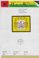Guinea Bissau   ;  Chess Ajedrez  ; Emission Leaflet - Guinea-Bissau